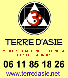 Terre d Asie, medecine traditionnelle chinoise : 06 11 85 18 26